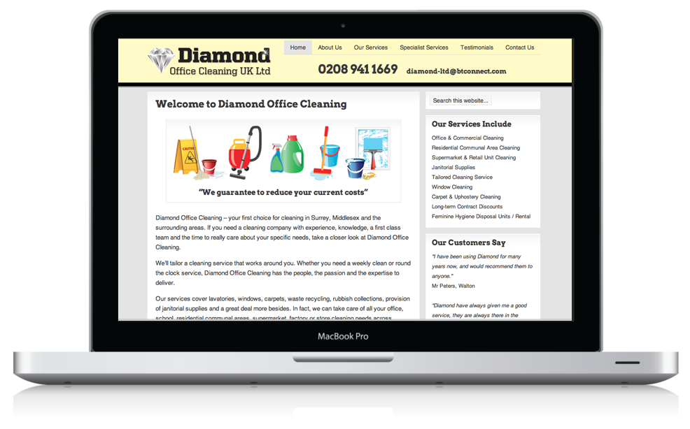 Diamond Cleaning UK Ltd